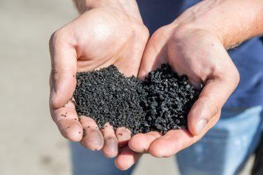 SBR Solid Black Rubber Granules