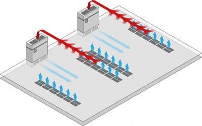 Raised Flooring for Ventilation Purposes