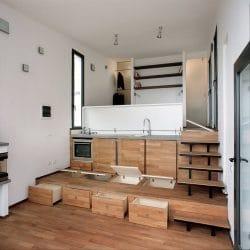 Raised Flooring for Storage Purposes