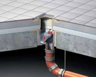 Raised Flooring Drainage