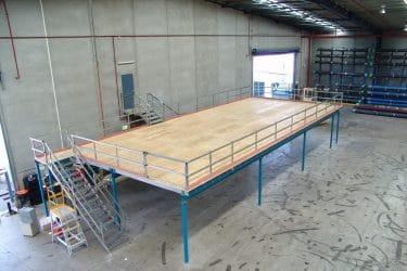 Raised Flooring Storage