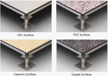 تصنيف بلاطات الأرضيات حسب الطبقة العلوية
